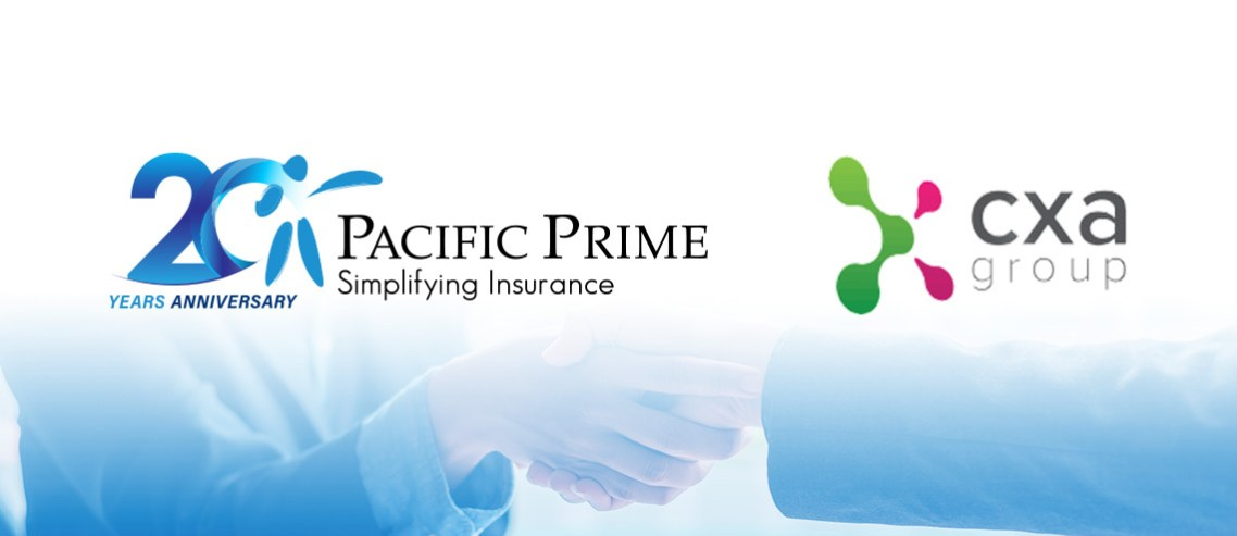 Pacific Prime's and CXA Group's logo