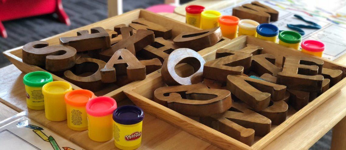 Kindergarten toys and activities
