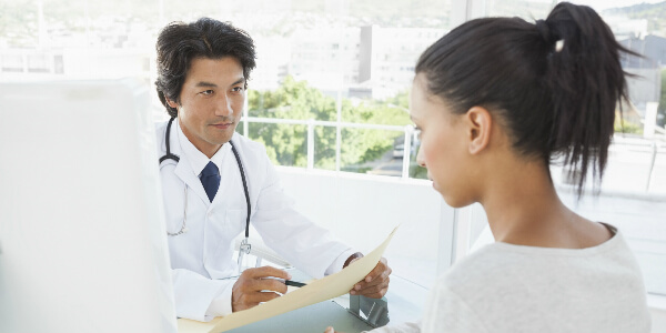 Cigna Priority Partner doctor and woman