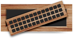 wood flush with frame grille pacific register
