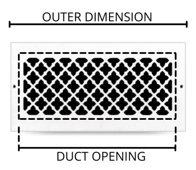 Select your new vent cover