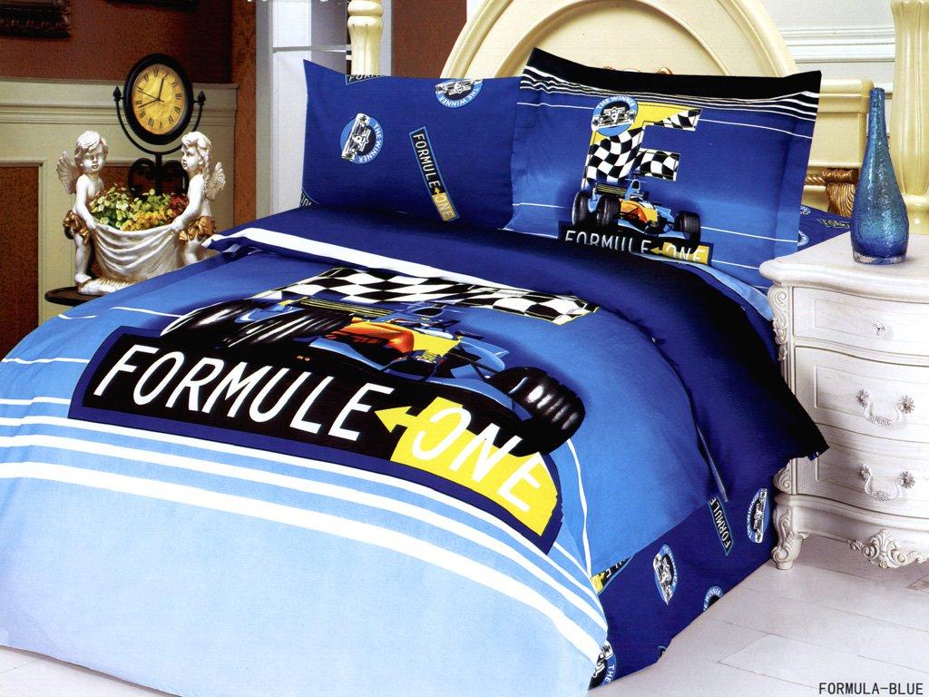 Car Racing Comforter Sets