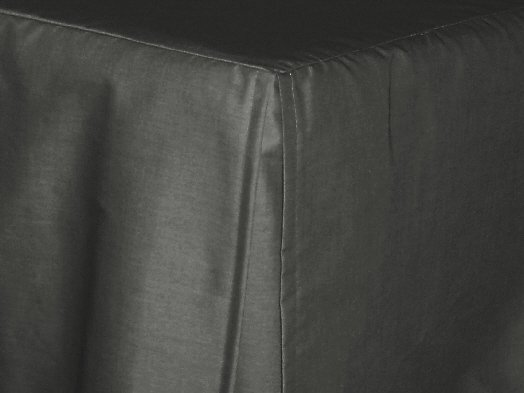 Charcoal Gray Tailored Bedskirt For Cribs And Daybeds And Twin Twin Xl Full Queen Olympic