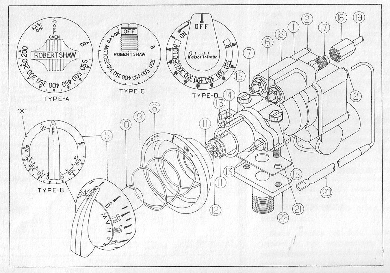 Wrg Gas O Keefe Merritt Stove Wiring Diagram