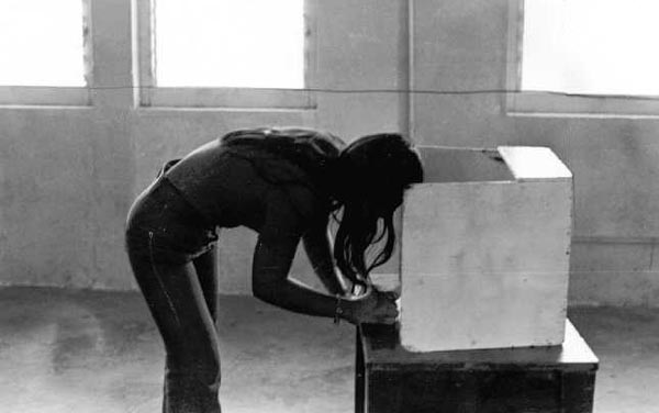 A young voter makes a decision on election day (taken from www.pacificworlds.com)