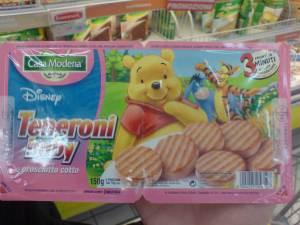 Winnie the pooh... mangia prosciutto