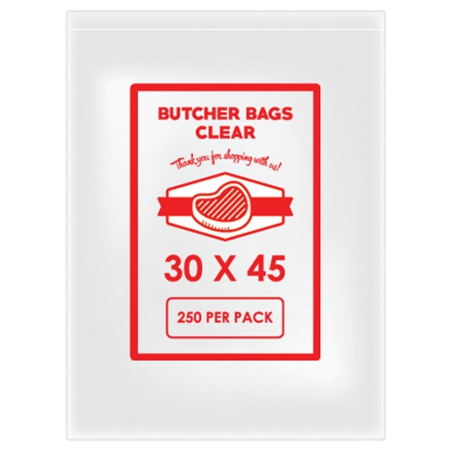 BUTCHER BAG 30 X 45 20MIC X 2000