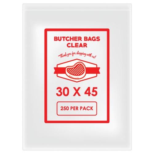 BUTCHER BAG 30 X 45 20MIC X 250