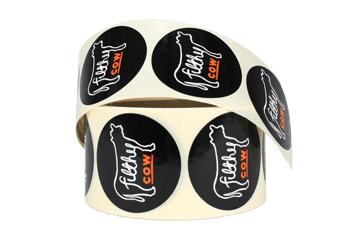 bespoke custom printed labels and stickers