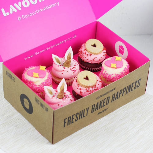 bespoke printed cake box design inspiration