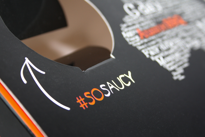 Custom Bespoke Printed Food Box Takeaway