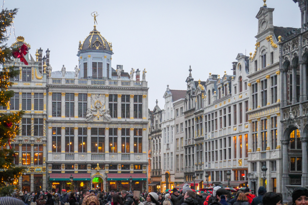 Stopover in Brussels in Pictures