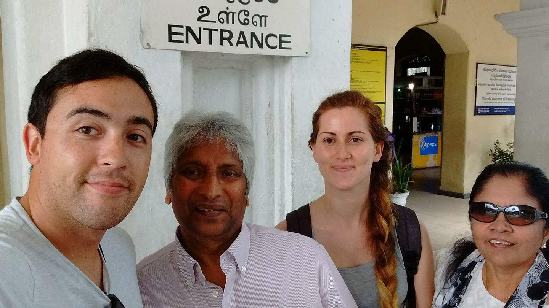 Encounters with Sri Lankans