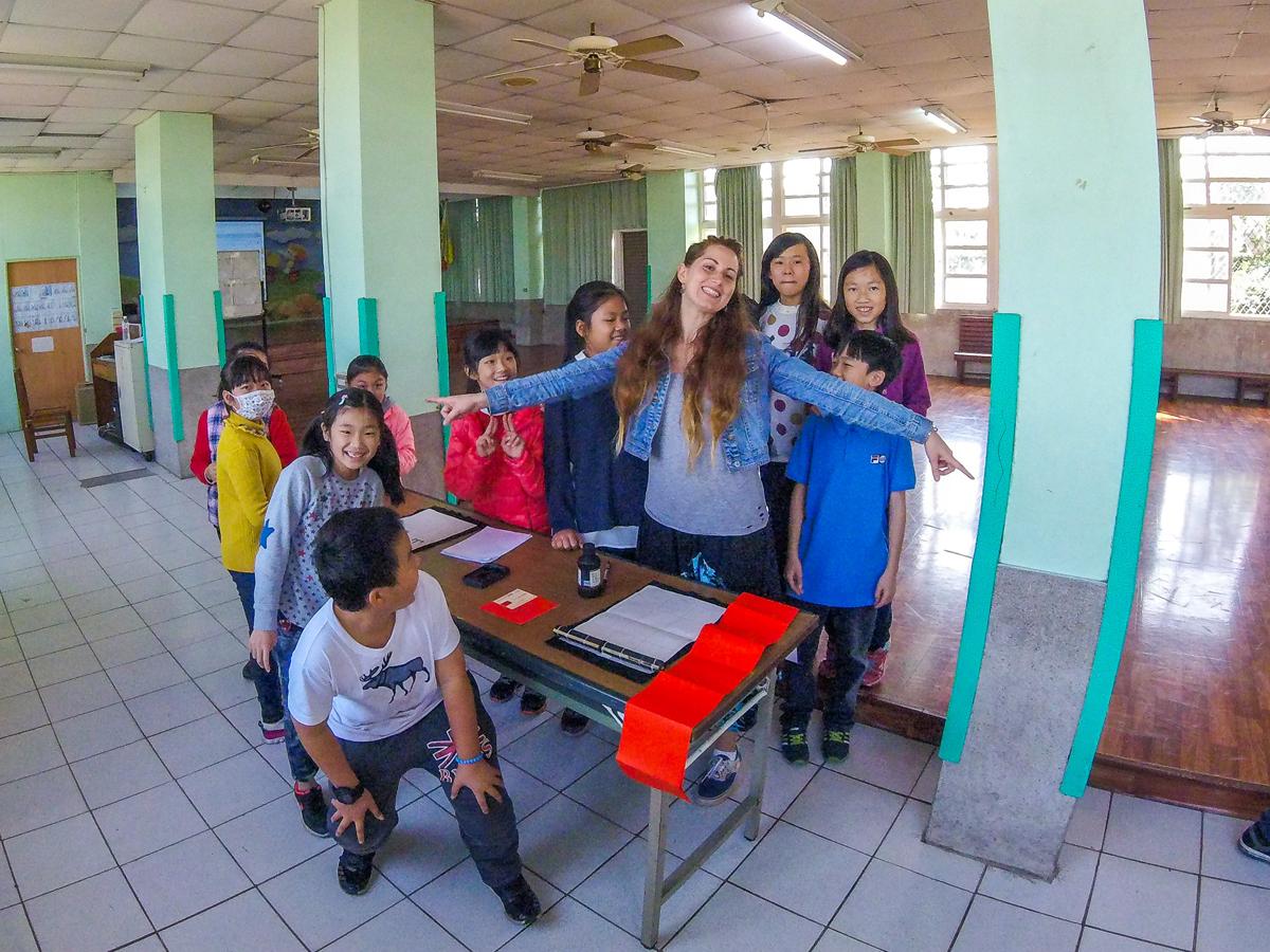 Volunteering in Taiwan