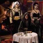 ziegler box oneshi press justice anthology comic book vicente alcazar comics comicbook goth girls fortune teller vampires