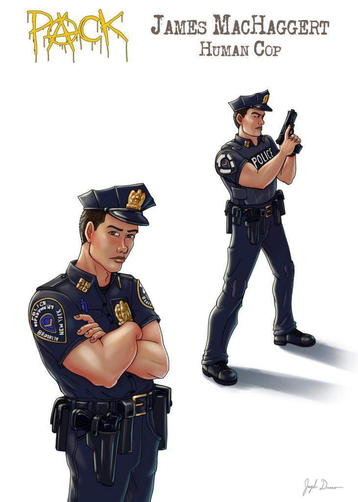Bio Pic of Officer James MacHaggert