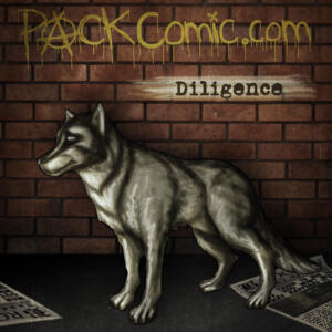 Diligence - Colored Sketch Portrait