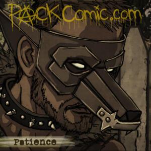 Patience - Colored Sketch Portrait