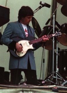 1979-09-01 Chris taken by Allan Mckay at the Ingliston Festival in Edinburgh on September 1st 1979.