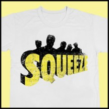 Squeeze silhouette logo tshirt
