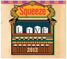 Squeeze Live 2012 - Pop Up Shop CD