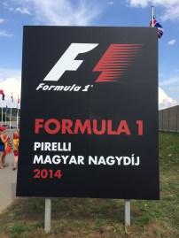 Formula 1 Grand Prix Sign