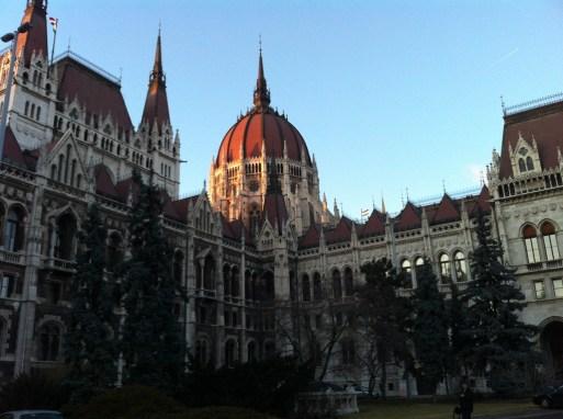 The Budapest Parliament Building