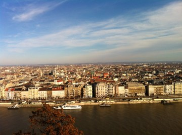 Pest from the Buda side, Citadella