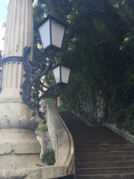 On the way up to the Citadella