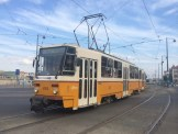 Old Tram of Budapest