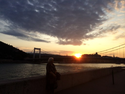 Sunset in Budapest