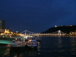 View from the Columbus Restaurant, Budapest. By Packing my Suitcase.