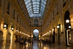 Galleria Vitorio Emanuele II, Milan, Packing my Suitcase.