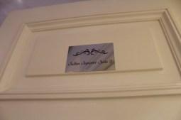 My room's door