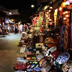 Little shops in Kaş