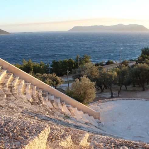 The Amphitheater of Kaş