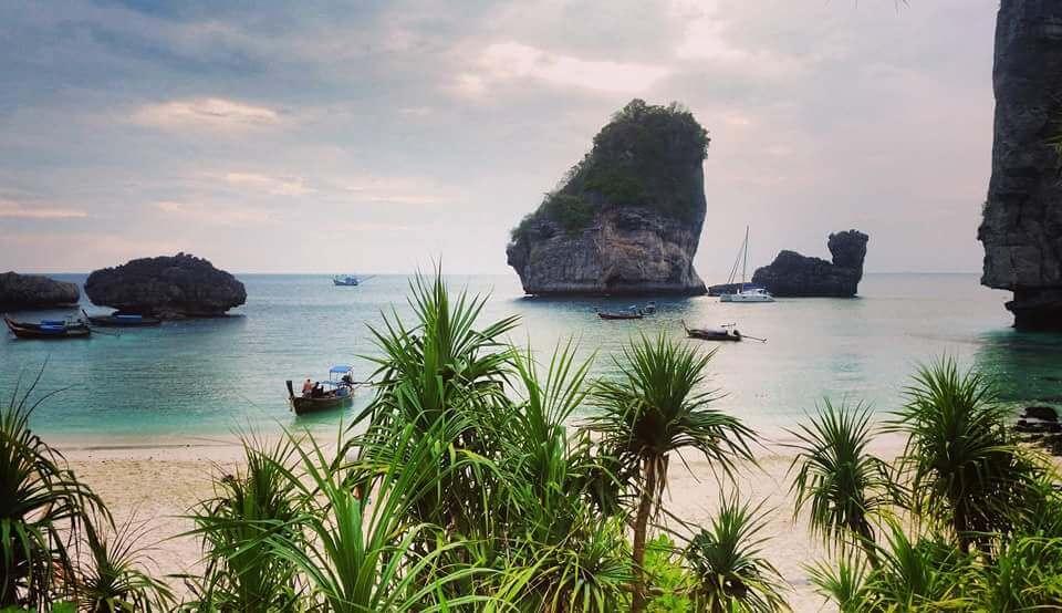 Plage et mer en Thaïlande