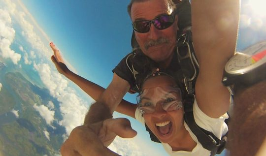 Skydiving in Brisbane