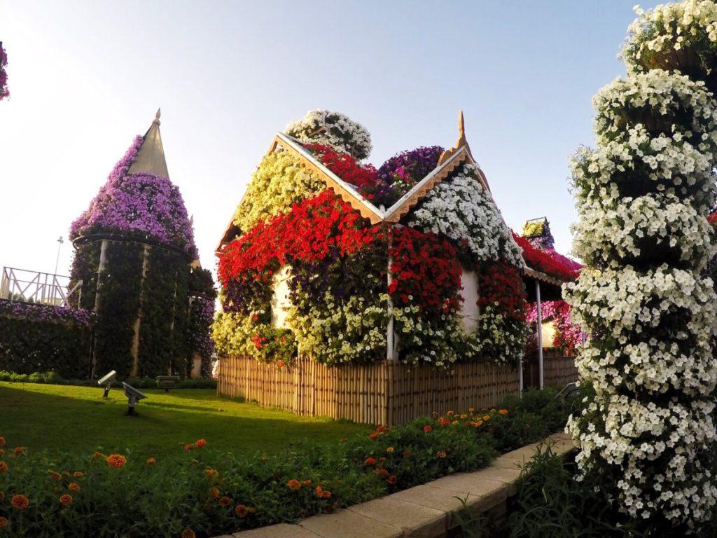 Flower House Miracle Gardens | Packs Light
