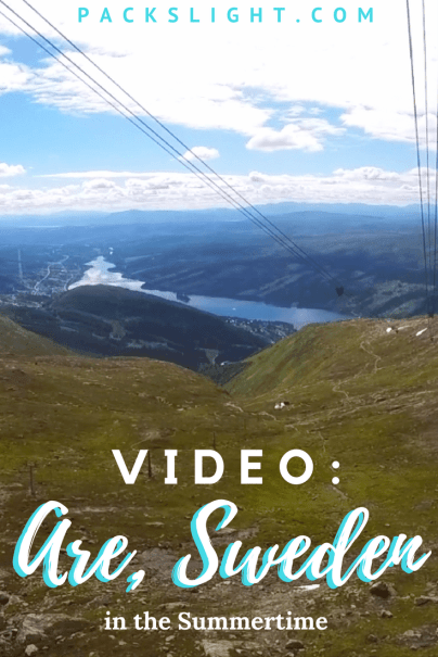 Watch this breathtaking video taken in the mountains of Åre, Sweden!