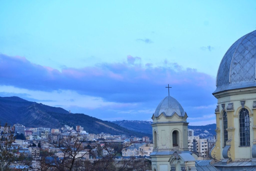 View from Terrace Suite- Fabrika Hostel Tbilisi | Packs Light