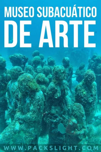 Check out the Museo Subacuático de Arte (MUSA), in Cancun, MX! Scuba dive it with no previous experience, and cross this off of your bucket list!