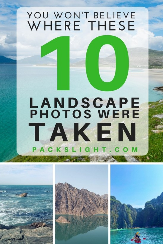 Can you guess where these 10 stunning landscape photos are located? China? Brazil? Namibia? Colorado?