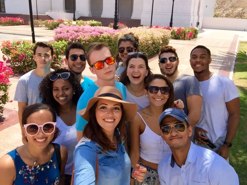 My study abroad group - Dubai