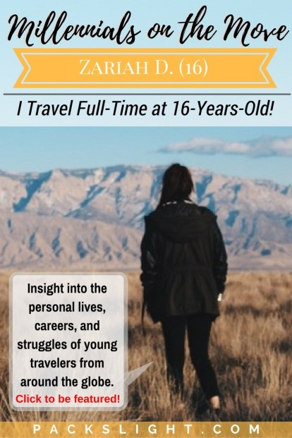 Read Zariah's story of how she travels the USA full-time with her entire family, building her business and studying all while on the road!