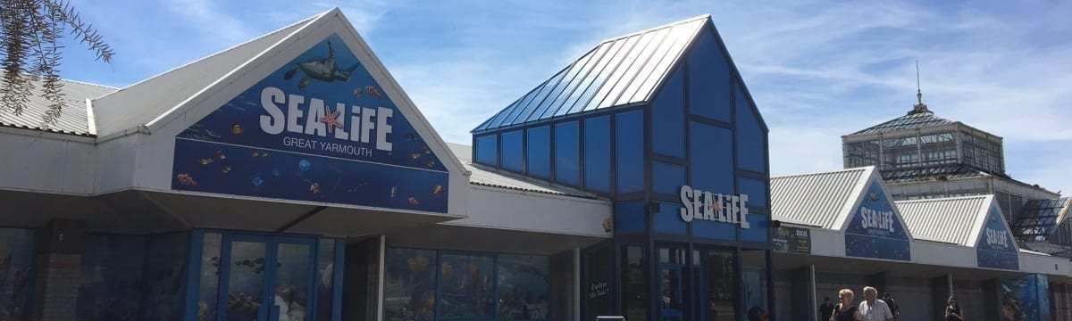 Norfolk Attractions: Sea Life Aquarium, Great Yarmouth