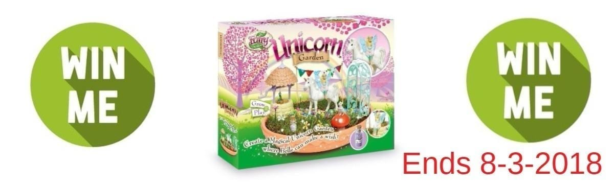Win a My Fairy Unicorn Garden by Interplay: Closes 8 March 2018