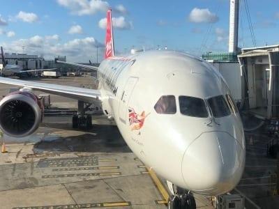 London to California by Virgin Atlantic's 787 Dreamliner