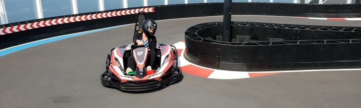Norwegian Bliss: Go-Kart Racing at Sea