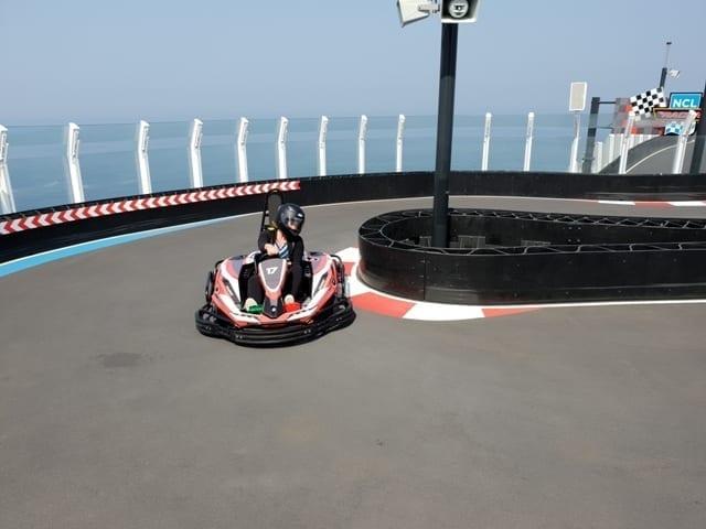 Norwegian Bliss: Go-Kart Racing at Sea - PackThePJs